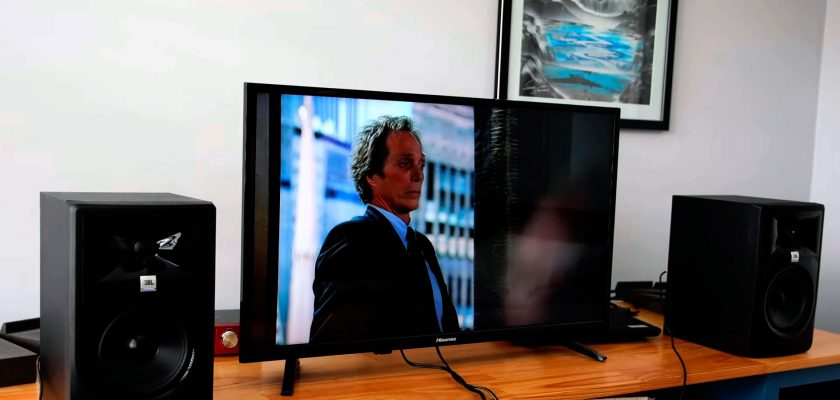 use external speakers to with TV
